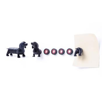 Magnetisk hund med 6 magneter fra Qualy QL10174