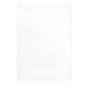 Hvid magnettavle A4 fra Trendform - pakke inkl. 5 magneter