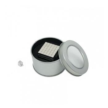 Magnet kuber 216 stk. i metalæske