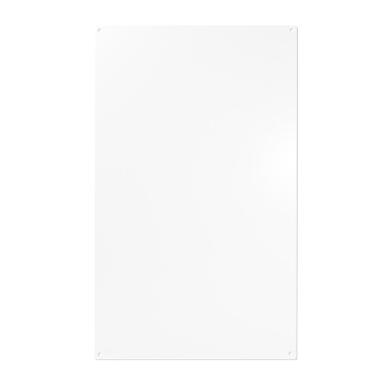 Magnet whiteboard i hvid 50x30 cm (rektangulært) med 10 stærke magneter. Fra Trendform.
