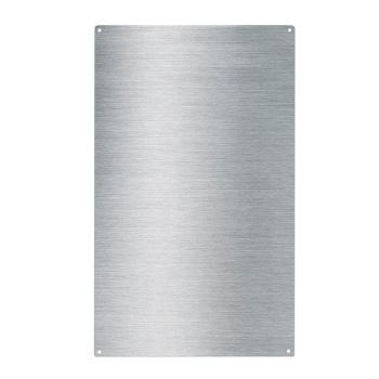 Magnet whiteboard i rustfrit stål i målene 50x30 cm. Fra Trendform.