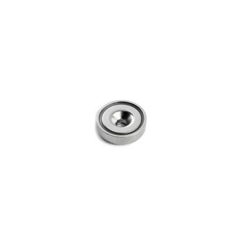 Undersænket pottemagnet ø12 mm. af neodymium og stål